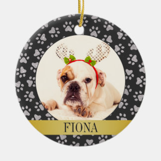 Personalized Pet Dog Photo Ornament