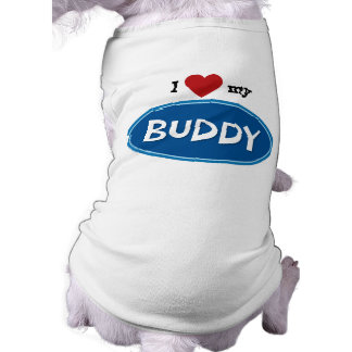 Personalized pet name Buddy Pet Tee