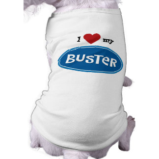 Personalized pet name Buster T-Shirt
