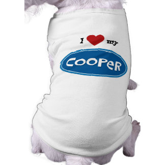 Personalized pet name Cooper T-Shirt