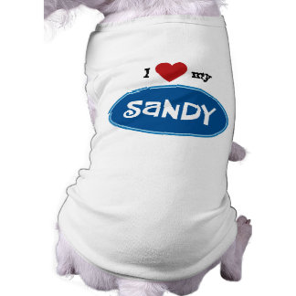Personalized pet name SANDY Tee
