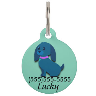 Personalized Pet Name Tag