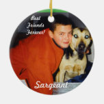 Personalized Pet Ornaments-Remembrance Ceramic Ornament