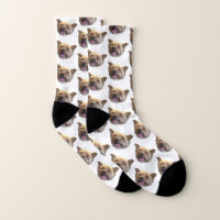 Personalized Pet Photo Christmas Present Socks