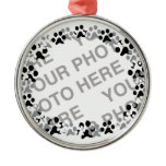 Personalized Pet Photo Metal Ornament