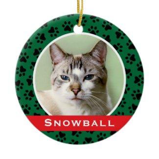 Personalized Pet Photo Ornament