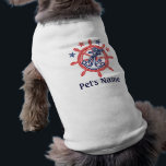 """Personalized Pet&#39;s Name Nautical decor Tee<br><div class=""""desc"""">A personalized nautical style decor for a custom pet shirt.          Here&#39;s a selection of fine custom nautical style embroidered baseball caps you can personalize easily.             Use the &quot;Ask this Designer&quot; link to contact us with your special design requests or for some assistance with any of your customization project needs.</div>"""