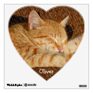 Personalized pet's photo wall decal