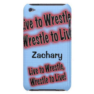 Personalized Phone Case for Wrestler