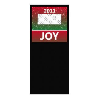 Personalized Photo 2011 Christmas Snow Joy Custom Invitations