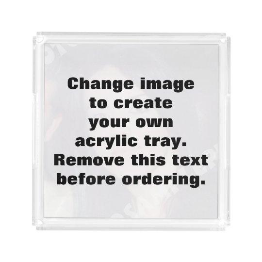 personalized photo acrylic tray make your own acrylic tray