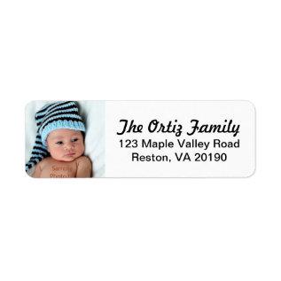 Personalized Photo Address Labels at Zazzle