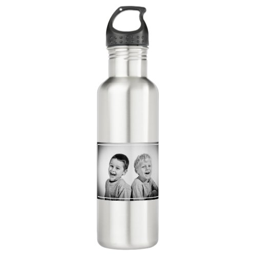 Personalized Photo and message Stainless Steel Water Bottle