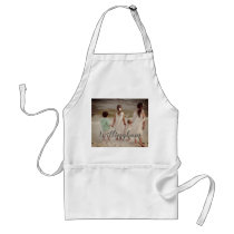 Personalized Photo and Name Adult Apron