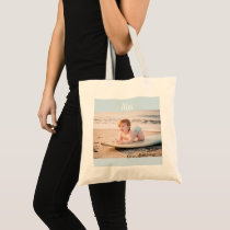 Personalized Photo and Name Tote Bag