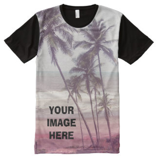 Personalized Photo and quote All-Over-Print Shirt