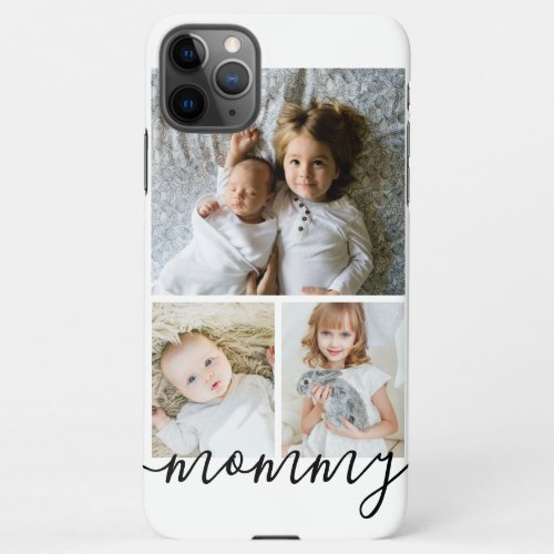 Personalized Photo and Text Photo Collage iPhone 11Pro Max Case