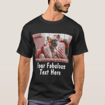 Personalized Photo and Text T-Shirt