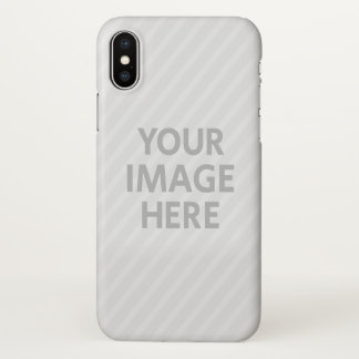 Personalized Photo Apple Glossy iPhone X Case