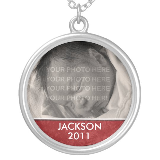 Personalized Photo Baby Keepsake Necklace