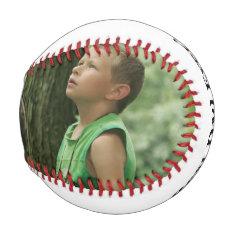 Personalized Photo Baseball at Zazzle