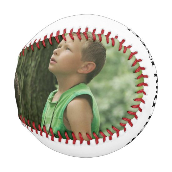 Personalized Photo Baseball