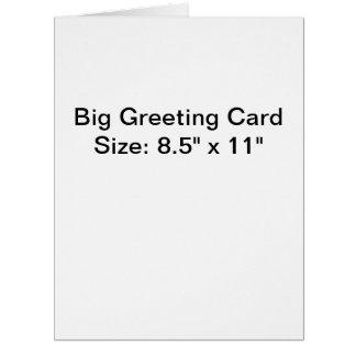 Custom large greeting cards zazzle personalized photo big greeting card m4hsunfo Choice Image