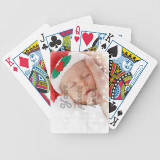 Personalized photo card deck
