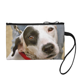 Personalized Photo Change Purse Polka Dot Red