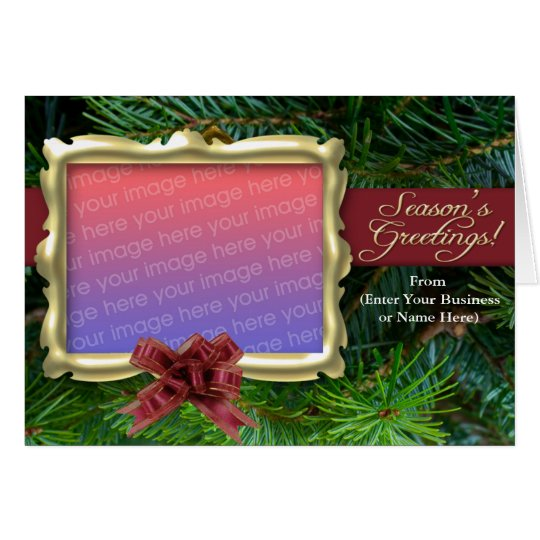 Personalized Photo Christmas Cards, Business or Card