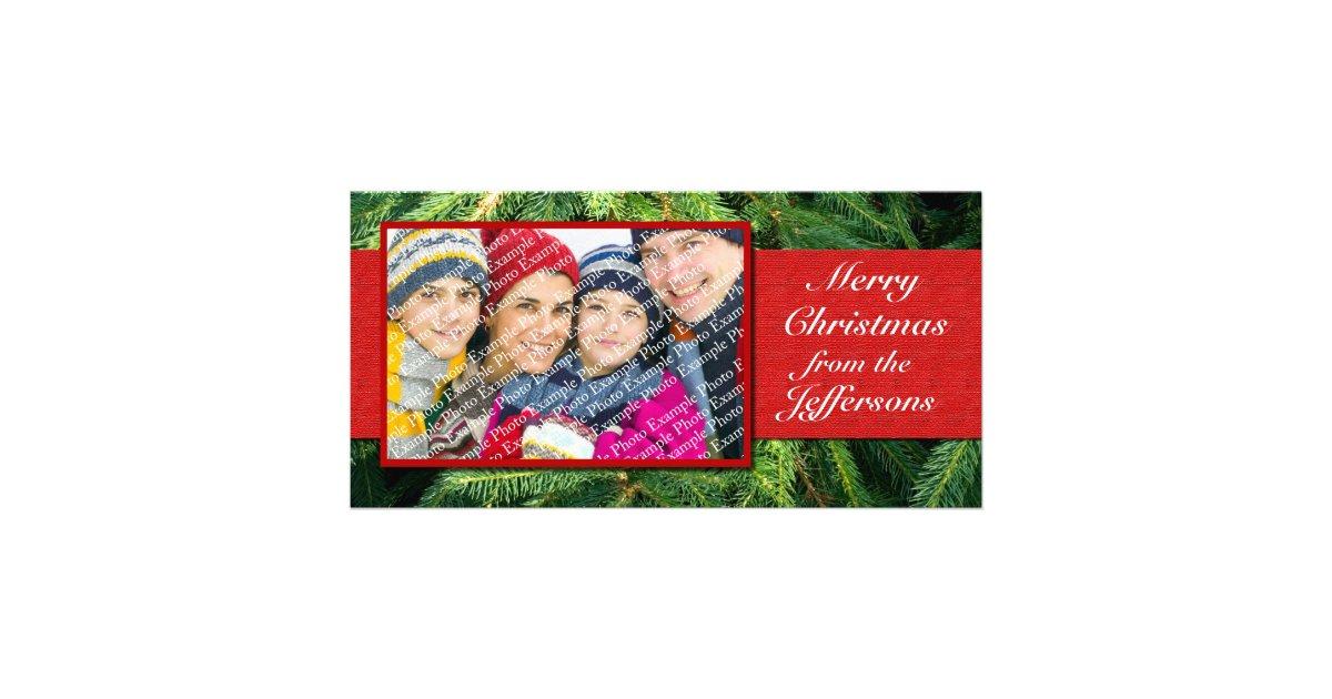 Personalized Photo Christmas Cards Xmas Holiday | Zazzle.com