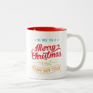 Personalized Photo Christmas Coffee Mug