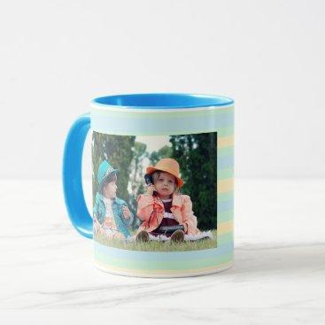 Coffee Themed Personalized Photo Coffee Mug for Grandma