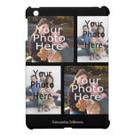 Personalized Photo Collage iPad Case, 4 Photos Case For The iPad Mini