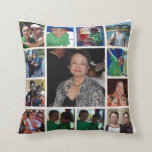 Personalized Photo Collage Pillow