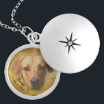 """Personalized Photo Custom Pet Portrait Necklace<br><div class=""""desc"""">Custom personalized photo upload pet portrait necklace. Photo editing with background removal is available on request. Please use the contact the designer button on the product page.</div>"""
