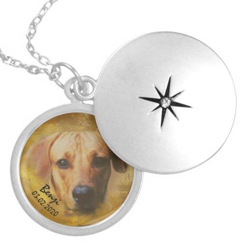 Personalized Photo Custom Pet Portrait Necklace