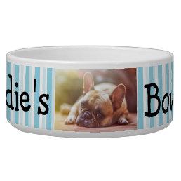 Personalized Photo Dog Bowl