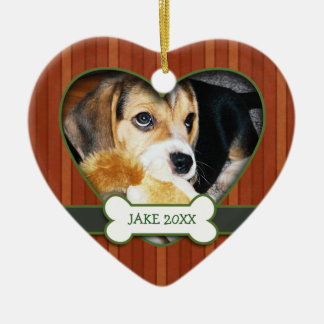 Personalized Photo Dog Ornament