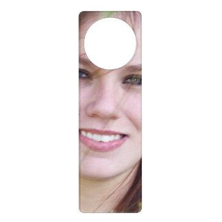 Personalized photo door hanger make your own for Create your own door