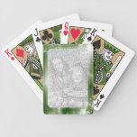 Personalized Photo Frame Bicycle® Playing Cards