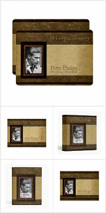 Personalized Photo Frame Funeral Collection
