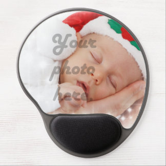 Personalized photo gel mouse pad