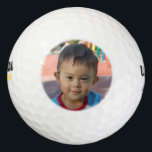 "Personalized Photo Golf Balls<br><div class=""desc"">A fantastic gift for the hard-to-shop-for guy. Upload a close-up photo with one or two faces to create a unique gift for golf lovers. These are great for uploading photos of the kids or grand kids to give to dads and grandfathers for a birthday, father"
