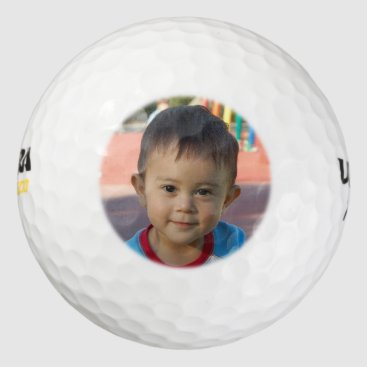 Toddler & Baby themed Personalized Photo Golf Balls