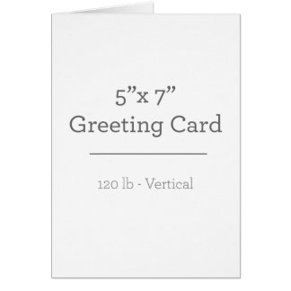 Personalized Photo Greeting Card