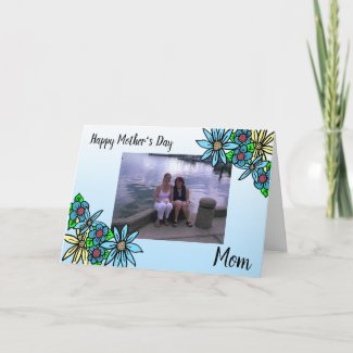Personalized Photo Happy Mother's Day Card