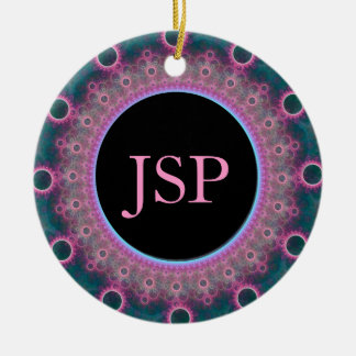 Personalized Photo Initial Ornament