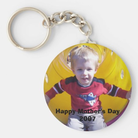 Personalized Photo Keyring Keychain