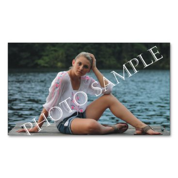 Professional Business Personalized photo magnetic business card